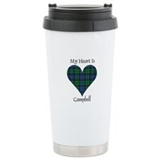 Heart - Campbell Travel Coffee Mug