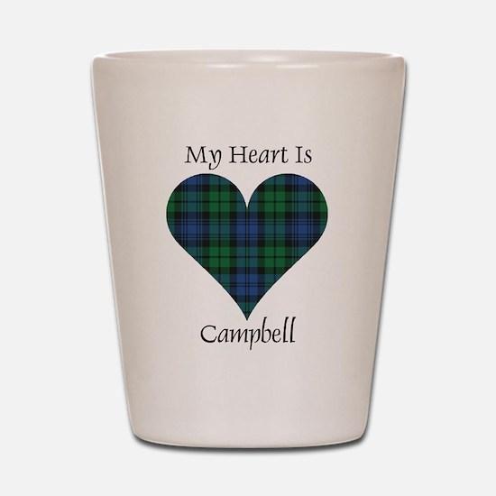 Heart - Campbell Shot Glass