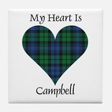 Heart - Campbell Tile Coaster