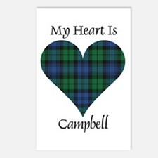 Heart - Campbell Postcards (Package of 8)