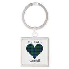 Heart - Campbell Square Keychain