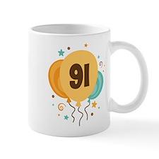 91st Birthday Party Mug