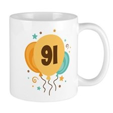 91st Birthday Party Mug