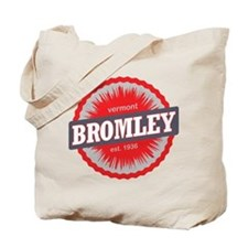 Bromley Mountain Ski Resort Vermont Red Tote Bag