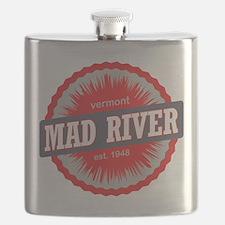Mad River Glen Ski Resort Vermont Red Flask
