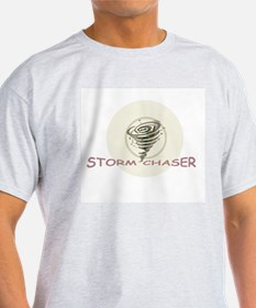 Storm Chaser Ash Grey T-Shirt