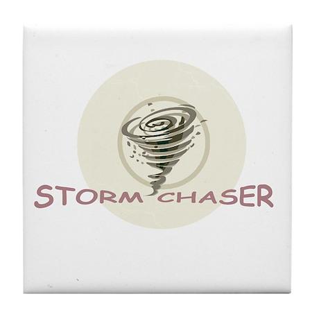 Storm Chaser Tile Coaster