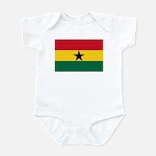 Flag of Ghana Infant Bodysuit