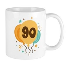 90th Birthday Party Small Mug