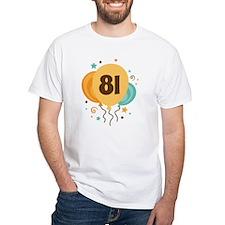 81st Birthday Party Shirt