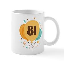 81st Birthday Party Mug