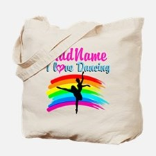 DANCING GIRL Tote Bag