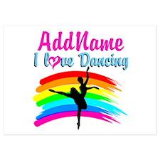 DANCING GIRL Invitations