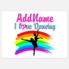 DANCING GIRL Invitations