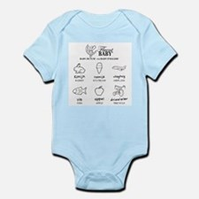 Baby Dutch and Baby English Body Suit