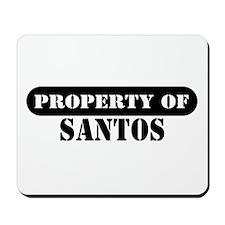 Property of Santos Mousepad