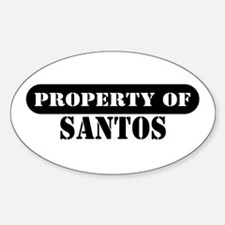 Property of Santos Oval Decal