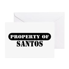 Property of Santos Greeting Cards (Pk of 10)