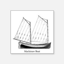 Great Lakes Mackinaw Boat Sticker