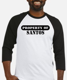 Property of Santos Baseball Jersey