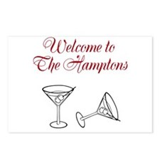 Welcome to the Hamptons Postcards (Package of 8)