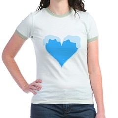 Snow Capped Heart T