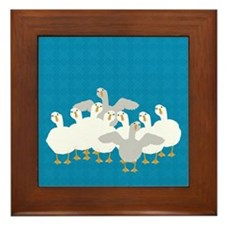Goose Who Framed Tile