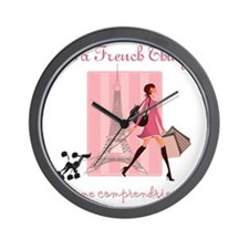 It's a French Thing Wall Clock