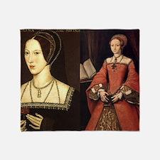 Anne and Elizabeth Throw Blanket