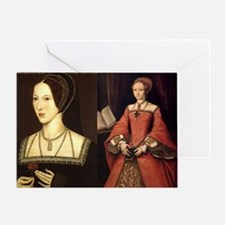Anne and Elizabeth Greeting Card