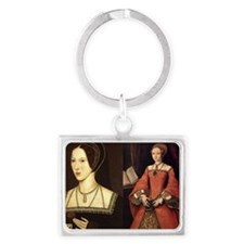 Anne and Elizabeth Landscape Keychain