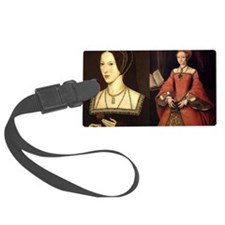 Anne and Elizabeth Luggage Tag