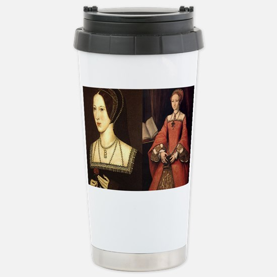 Anne and Elizabeth Stainless Steel Travel Mug
