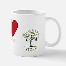 Peace Love Story Mugs