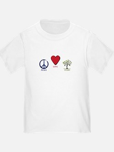 Peace Love Story T-Shirt