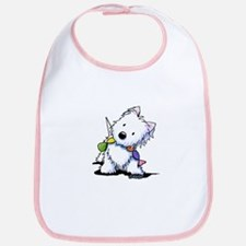 KiniArt Playful Westie Bib