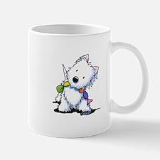 KiniArt Playful Westie Mug