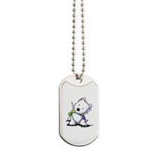 KiniArt Playful Westie Dog Tags