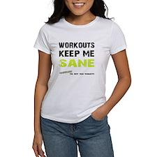 Keep Me Sane White T-Shirt