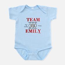 Team Emily Body Suit