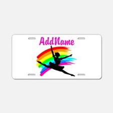 DANCING STAR Aluminum License Plate