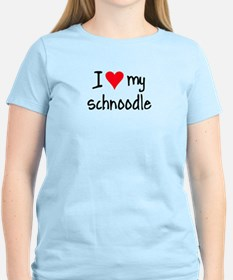 I LOVE MY Schnoodle T-Shirt
