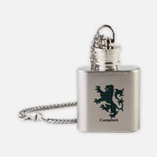 Lion - Campbell Flask Necklace