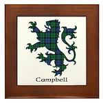 Lion - Campbell Framed Tile