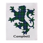 Lion - Campbell Throw Blanket