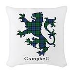 Lion - Campbell Woven Throw Pillow
