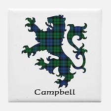 Lion - Campbell Tile Coaster