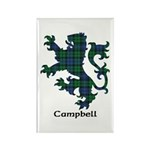 Lion - Campbell Rectangle Magnet (10 pack)
