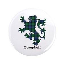 "Lion - Campbell 3.5"" Button"