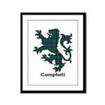Lion - Campbell Framed Panel Print